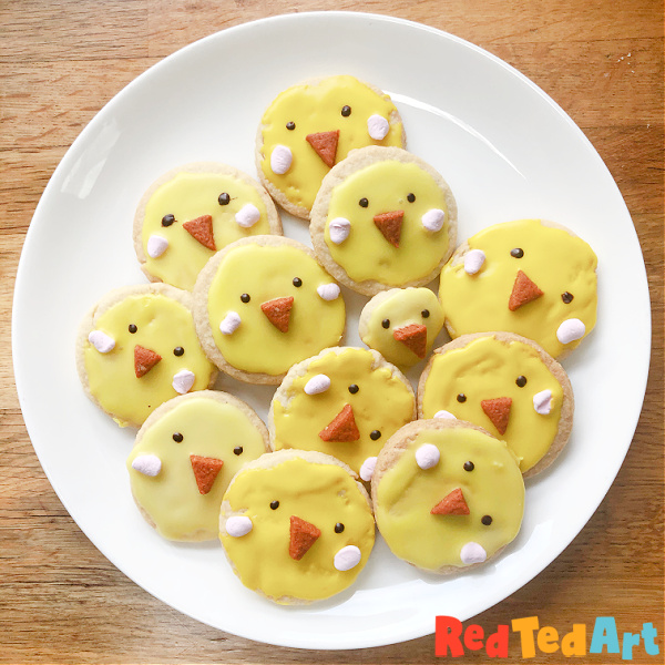 14 Fun Easter Cookie Recipes- chicks