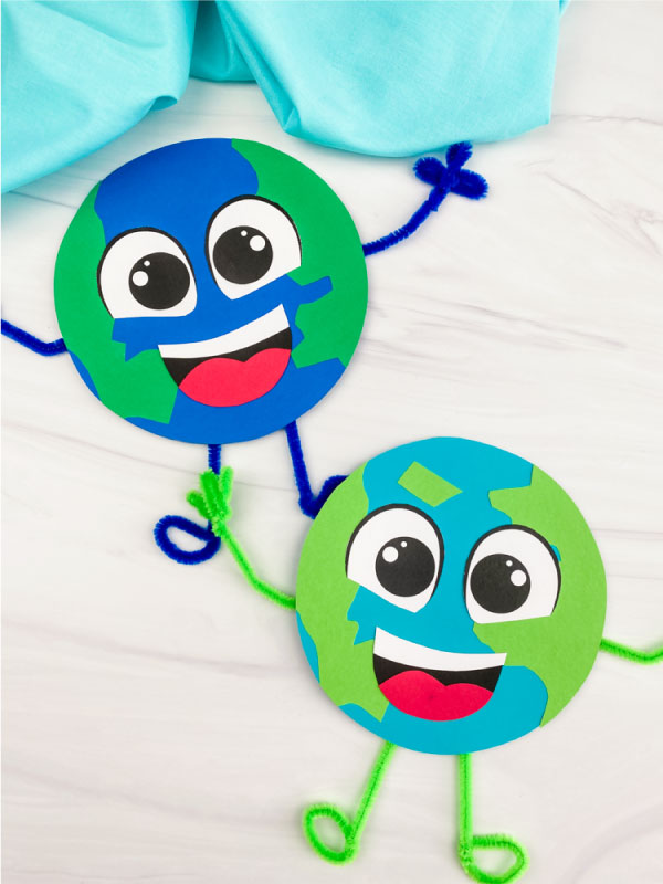 15 Fun Earth Day Crafts & Activities- earth man
