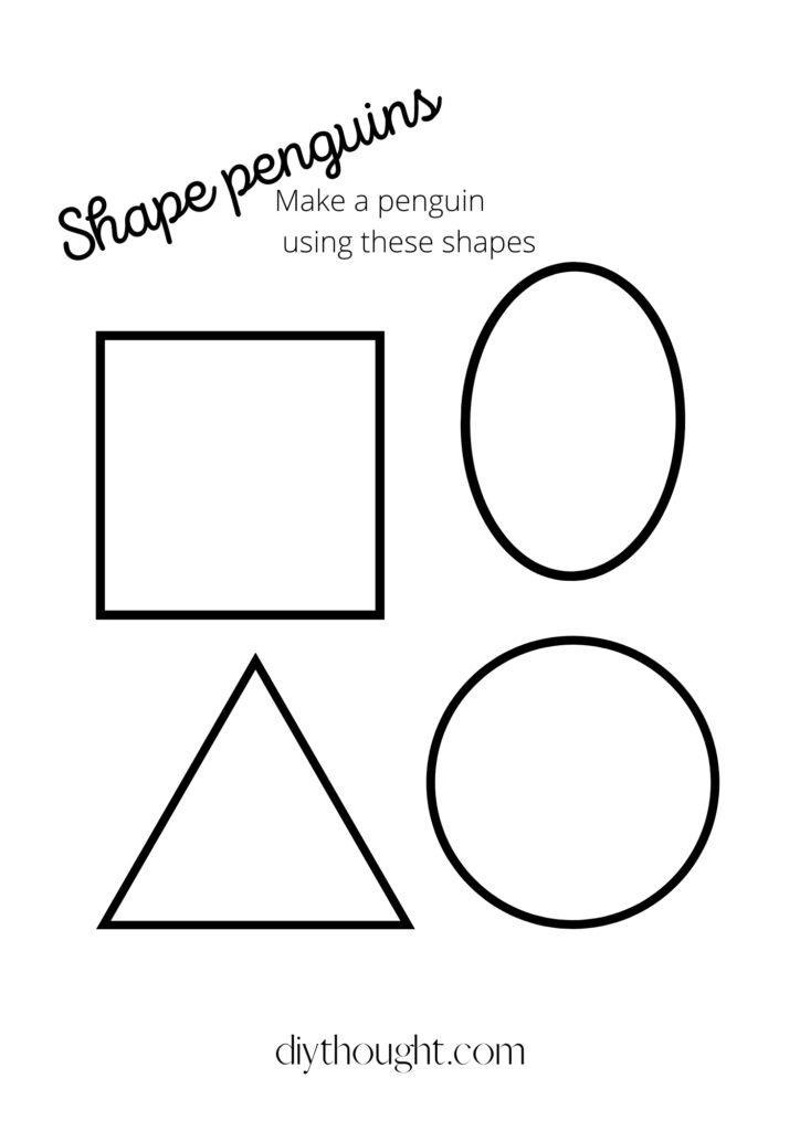 Shape printable free