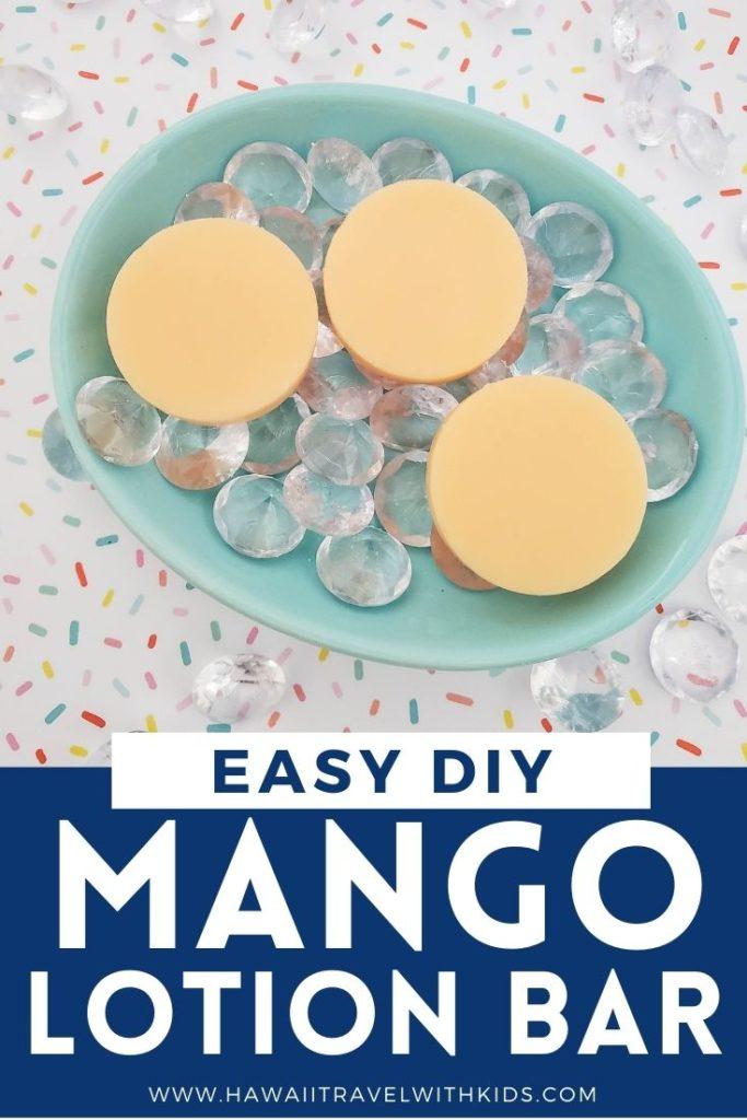 mango lotion bars