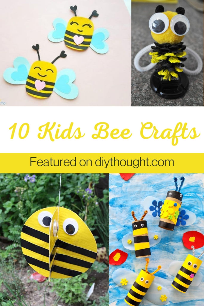 10 Kids Bee Crafts