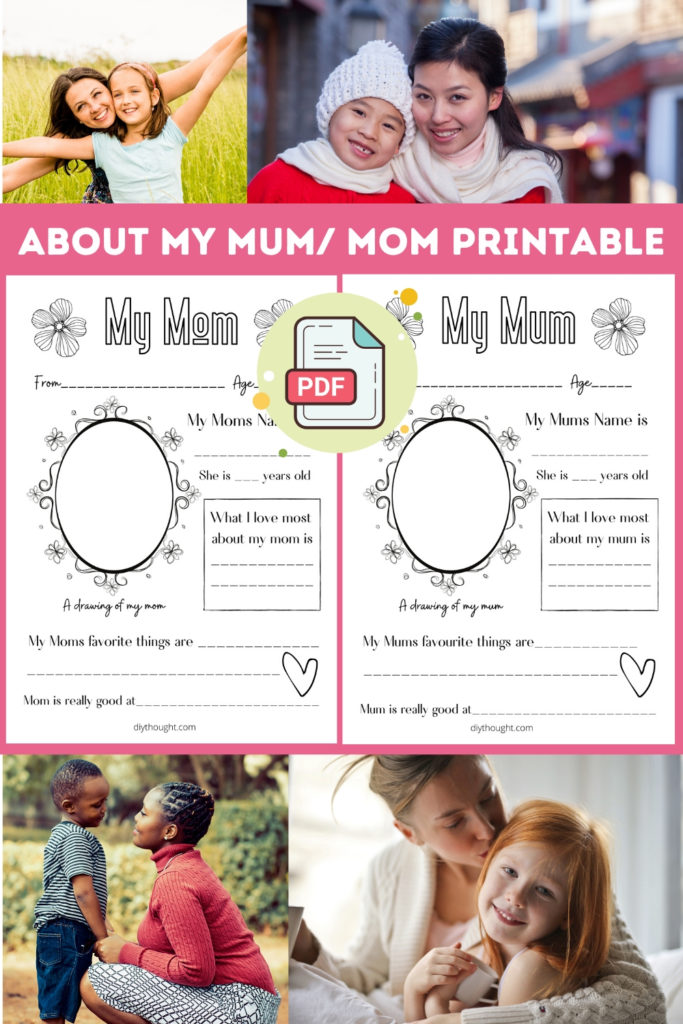 about mom printable