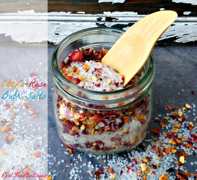 DIY Gifts For Mother's Day- bath salts