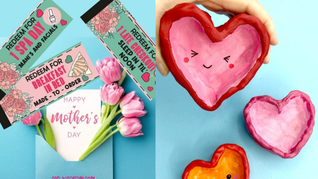 DIY gifts for mothers day