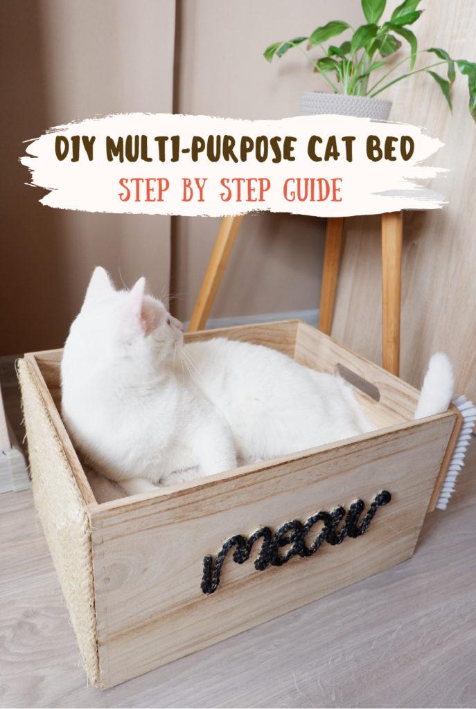 DIY multipurpose cat bed