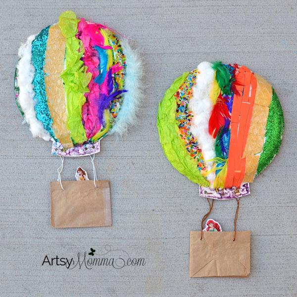 1/6 Hot Air Balloon Crafts