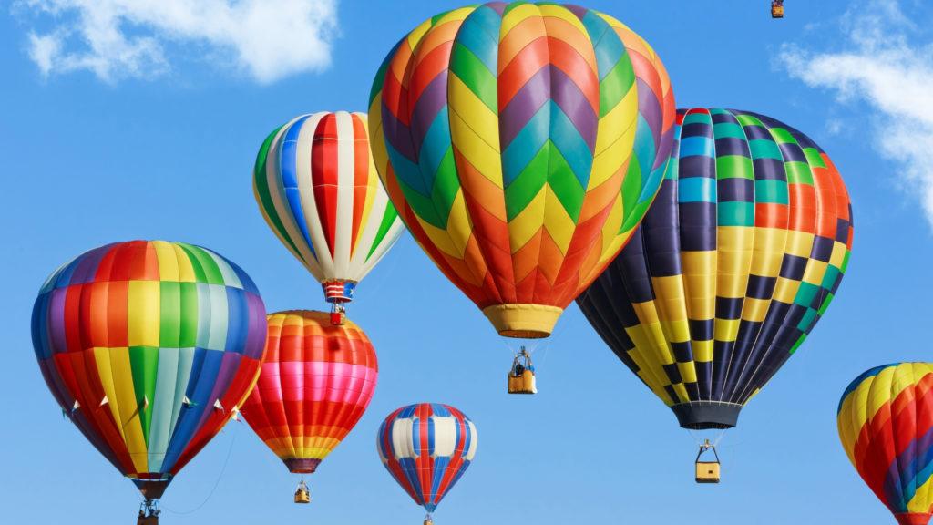 crafty days in june- hot air balloon