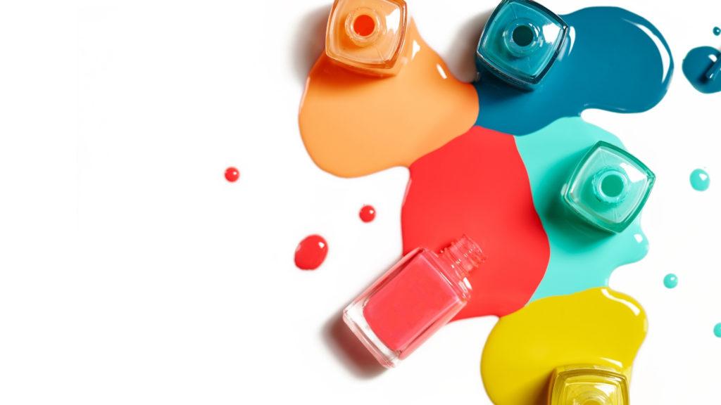 crafty days in june- nail polish
