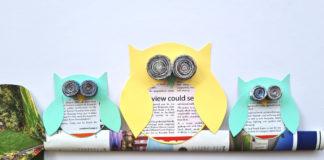 Newspaper Owls