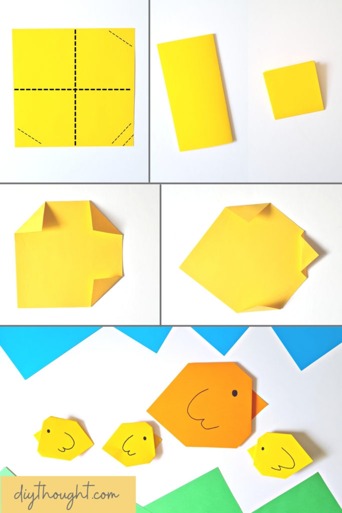 How to make Easy Origami Chick
