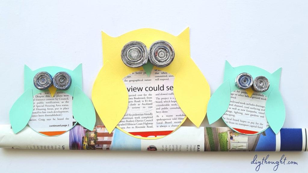 Crafty days in August- Owl day