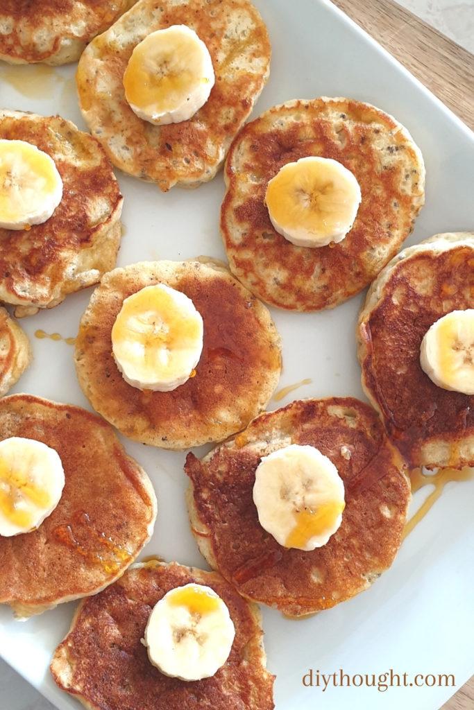 Banana & Chia Pikelets