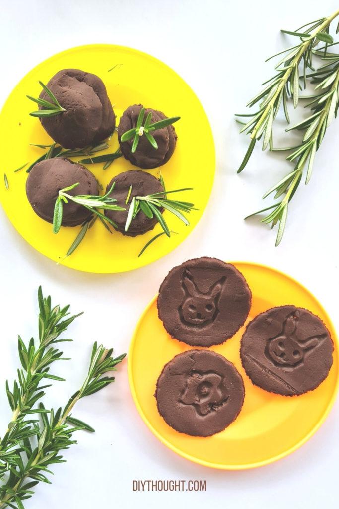 Cocoa Playdough recipe