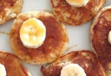 banana and chia pikelets