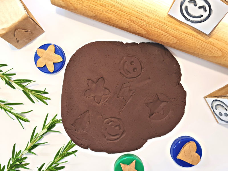 Cocoa Playdough