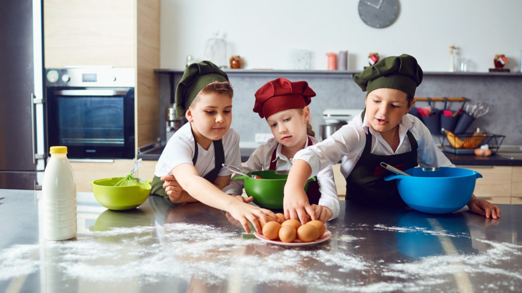 kids in the kitchen day